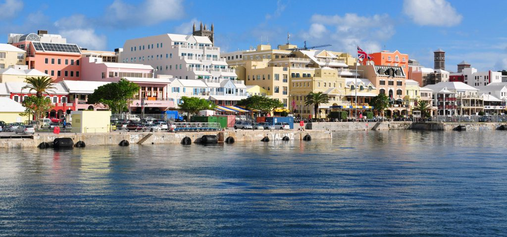 Bermuda waterfront Ha milton