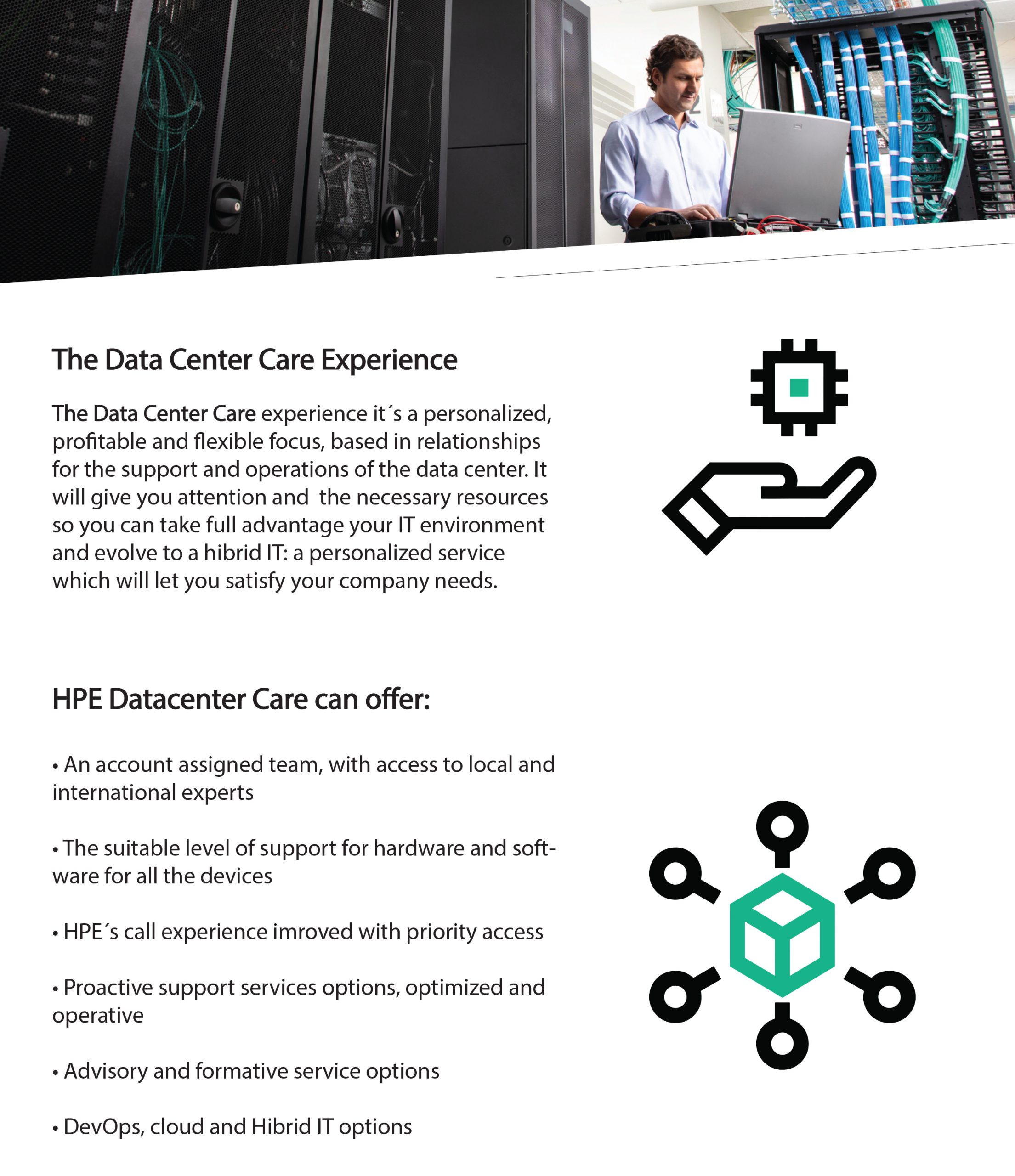 HPE DC Care